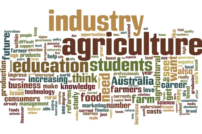 Agriculture wordle