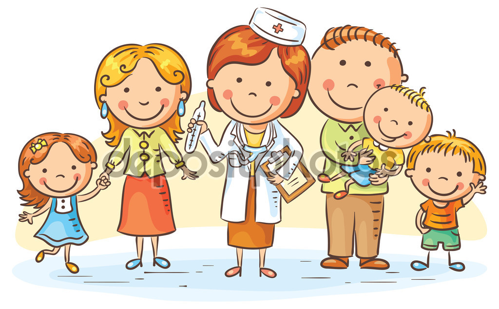 enfermeiro e familia