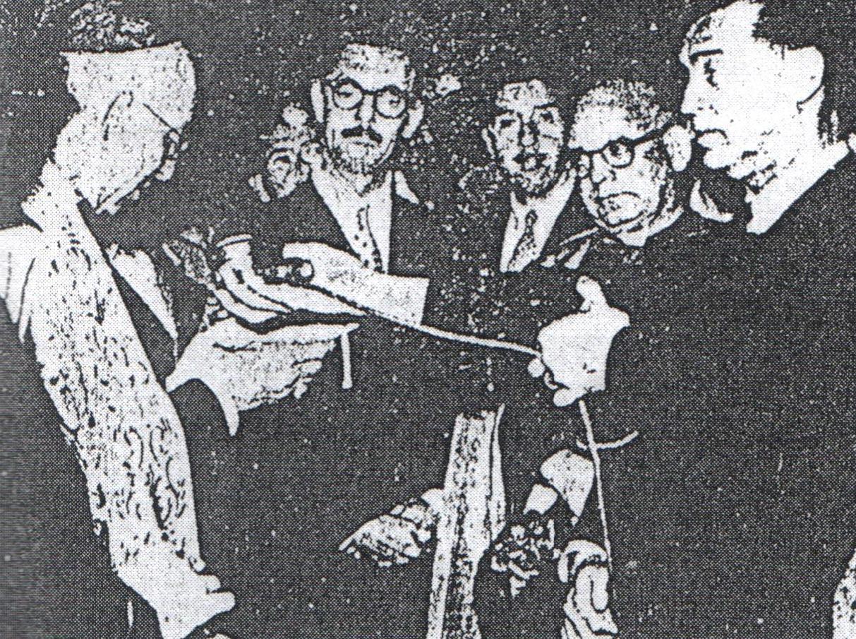 JK e Jânio Quadros visitam Piracicaba
