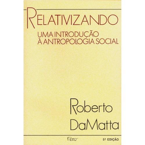Capa do livro Relativizando de Roberto DaMatta
