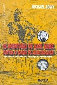 Capa do livro Aventuras de Karl Marx